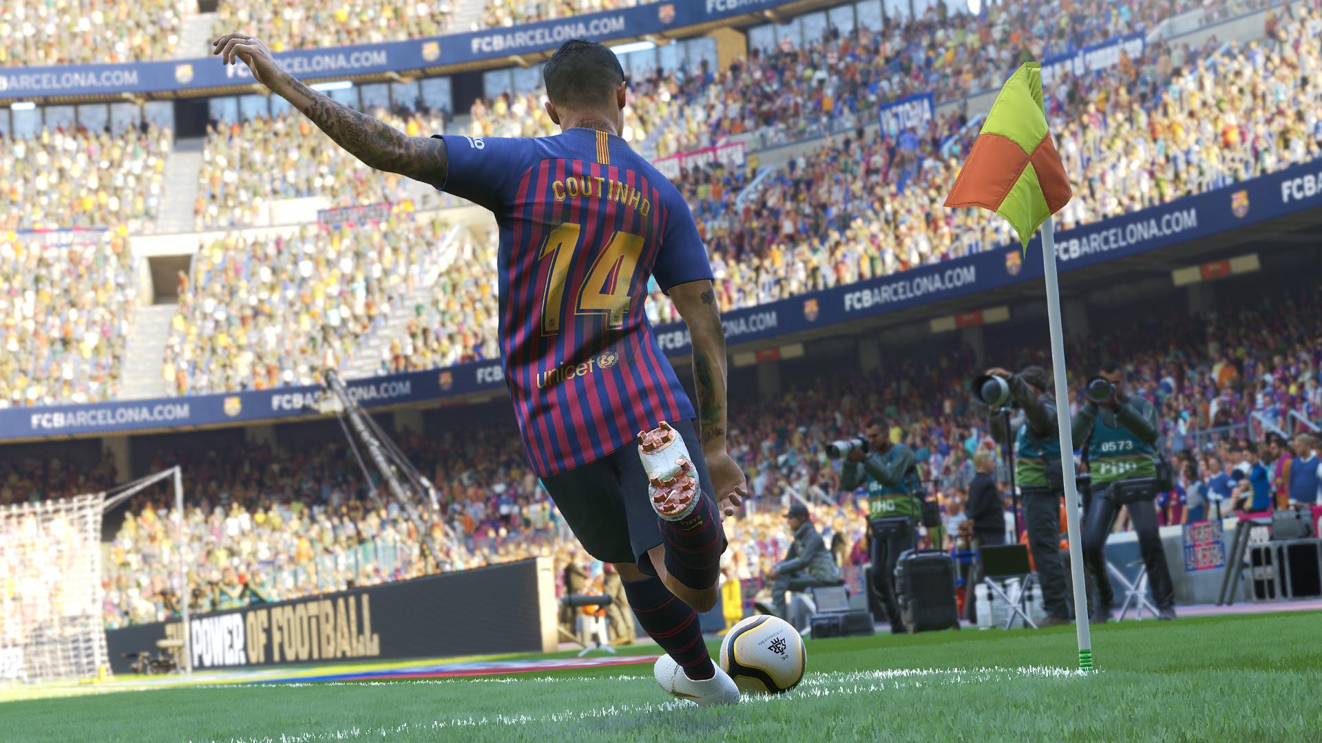 Pro evolution soccer 2019 jeux video